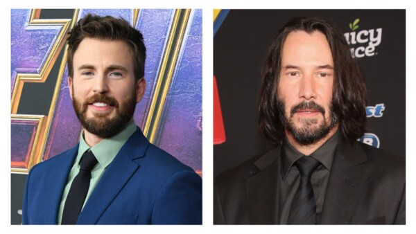 Chris Evans y Keanu Reeves