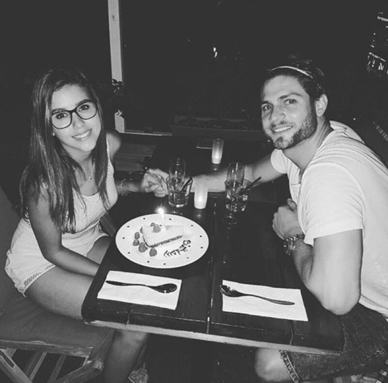 Después de la obra, celebraron con una cena.