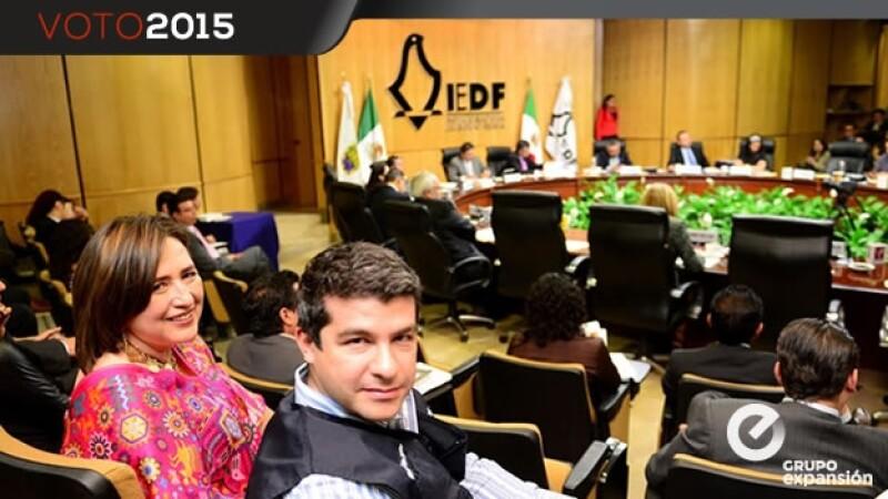 IEDF registra a Xóchitl Gálvez