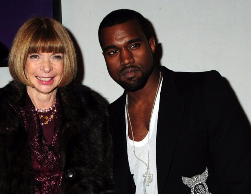 De acuerdo con RadarOnline, el rapero fue con su amiga para cuestionarle por qué su pareja no apareció en la portada de Vogue y prefirió a la actriz Lena Dunham.