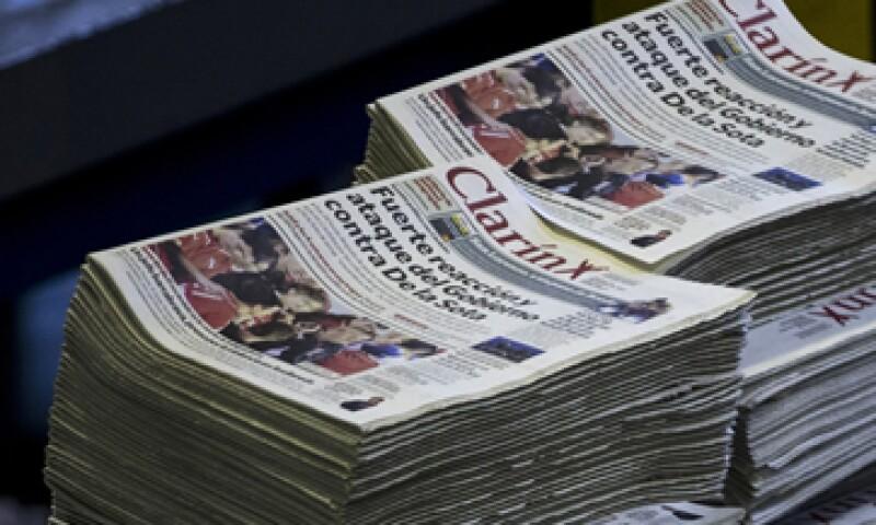 Clarín es dueño de los principales operadores de cable del país y del diario más vendido. (Foto: AP)
