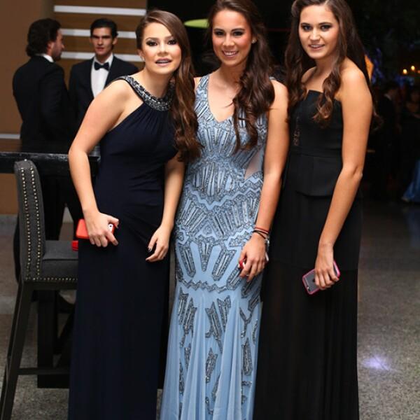 Ana Isabel Guémez, Almudena Corona y Fátima Hernández