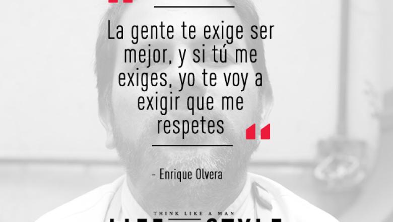 Enrique Olvera  (foto tomada de Facebook)