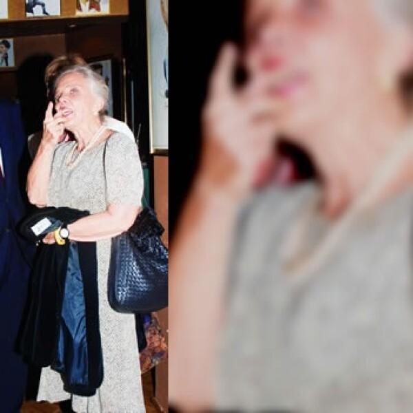 Carlos Fuentes y Elena Poniatowska
