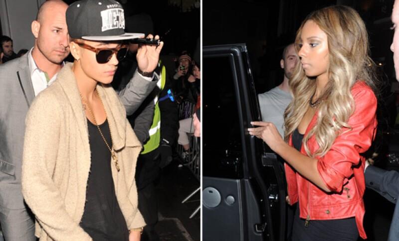 Y de las latinas, Justin se inclinó por una británica, cuyos rasgos continúan siendo iguales a los crush anteriores que él había tenido.