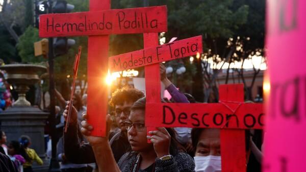 Familiares de víctimas de feminicidio han pedido que se levanten las alertas en la entidad por los altos niveles de violencia de género.