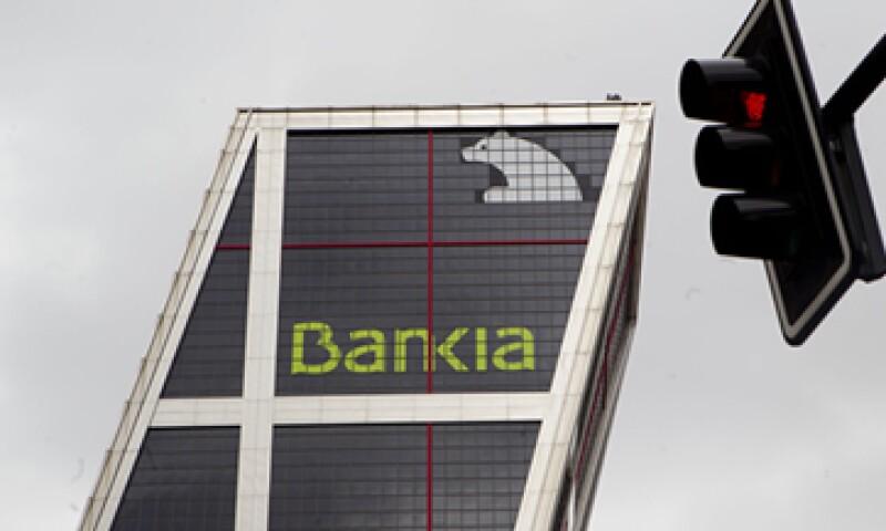 El Gobierno español asumió el control de Bankia en mayo después de que el banco quedara al borde de la insolvencia.  (Foto: AP)