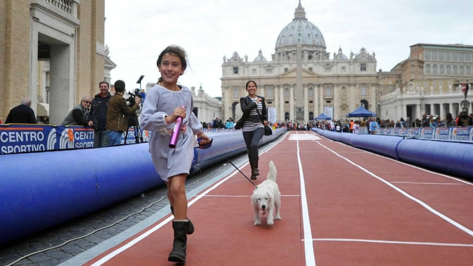 Carrera de la fe en el Vaticano