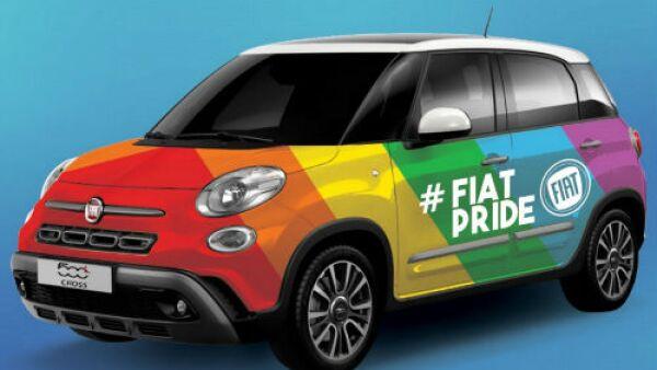 Fiat orgullo gay