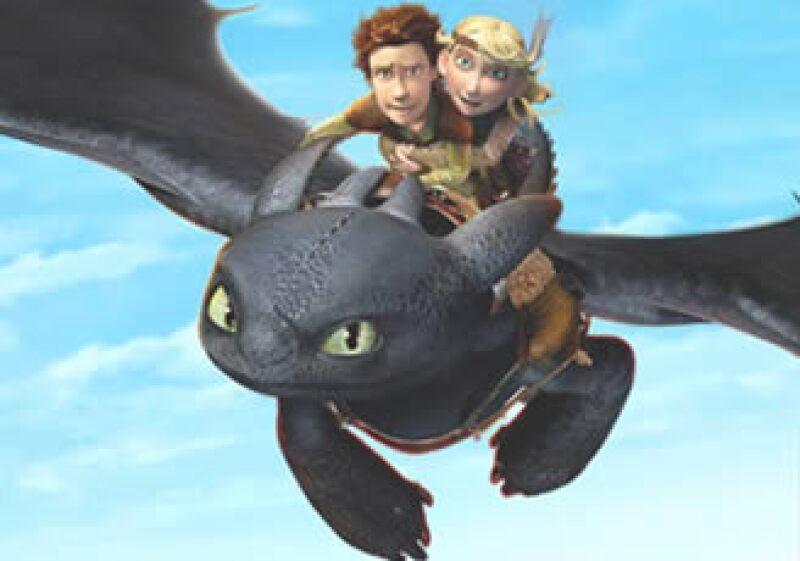 La firma cinematográfica dijo que lanzará una secuela de la película 'How to train your Dragon' en 2013. (Foto: Cortesía DreamWorks)