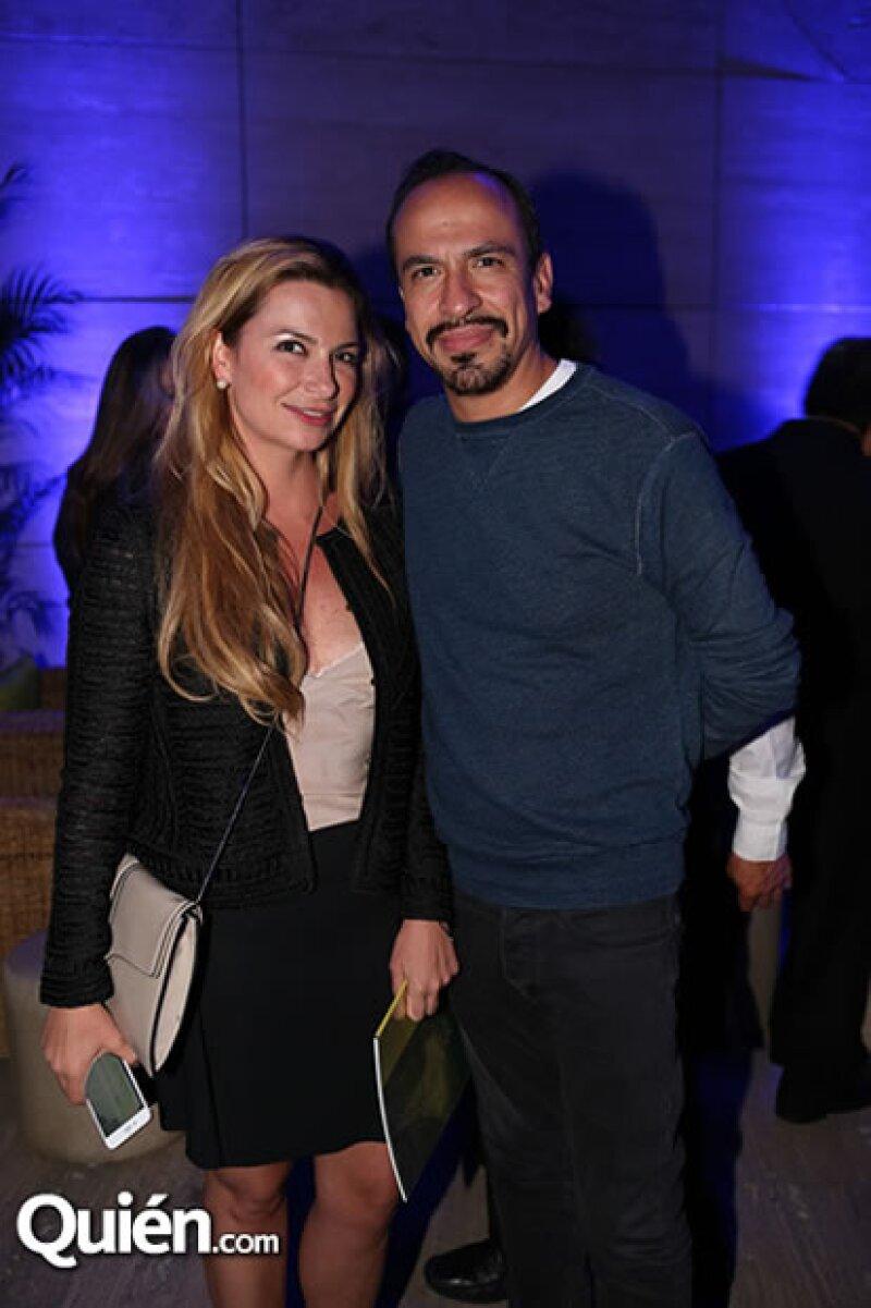 Catalina Buchanan y Felipe Colsa.