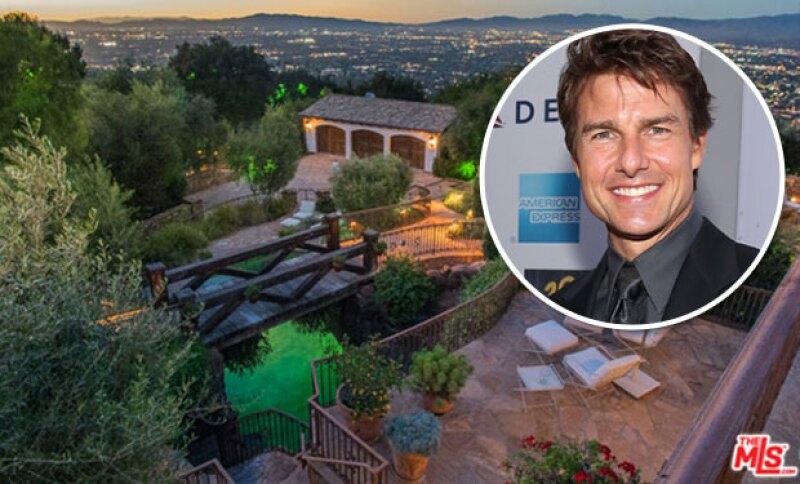 El actor vendió la propiedad con estilo de villa europea en 11.4 millones de dólares.