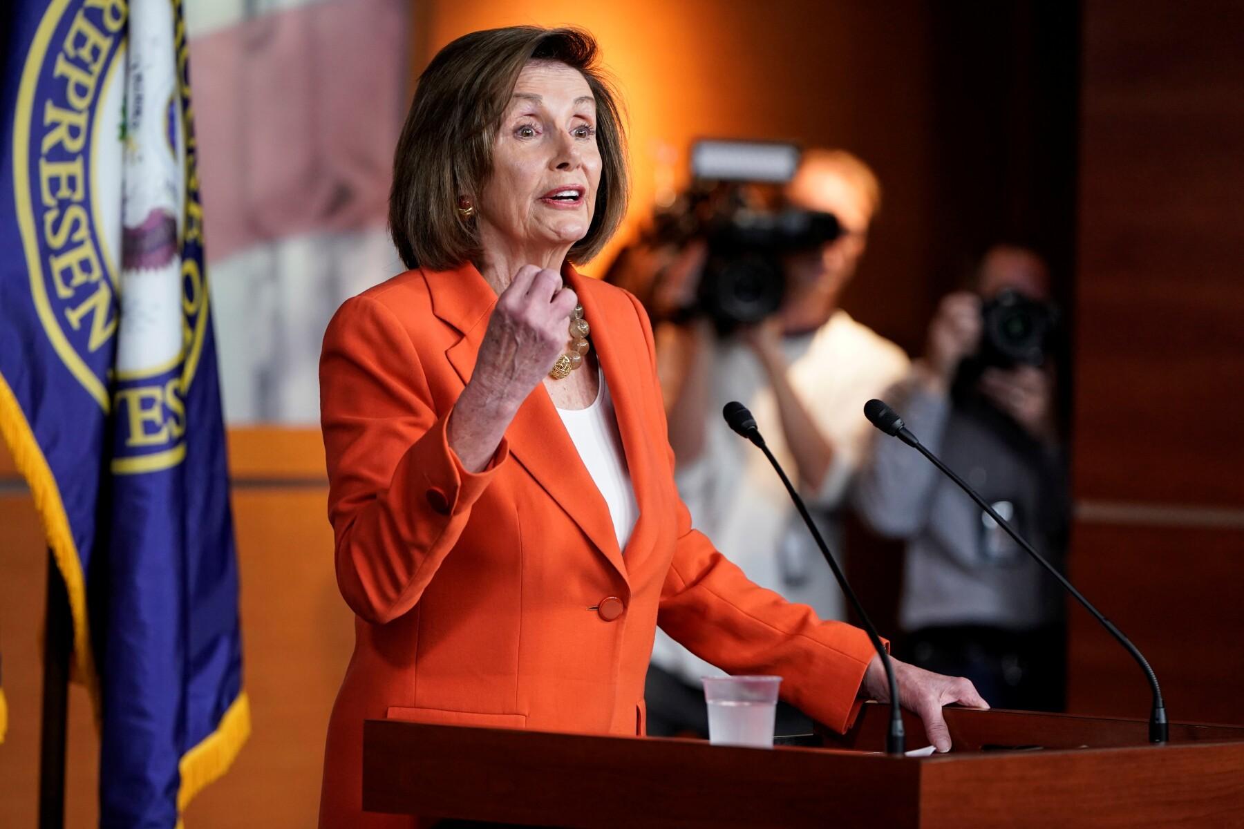 Nancy Pelosi T-MEC ratificación