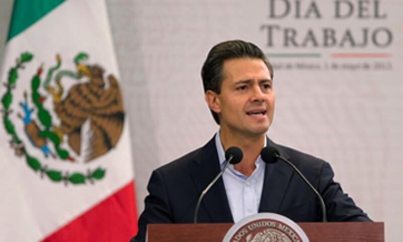 El presidente Enrique Peña Nieto ofreció un mensaje con motivo del Día del Trabajo. (Foto: Cortesía Presidencia de la República)