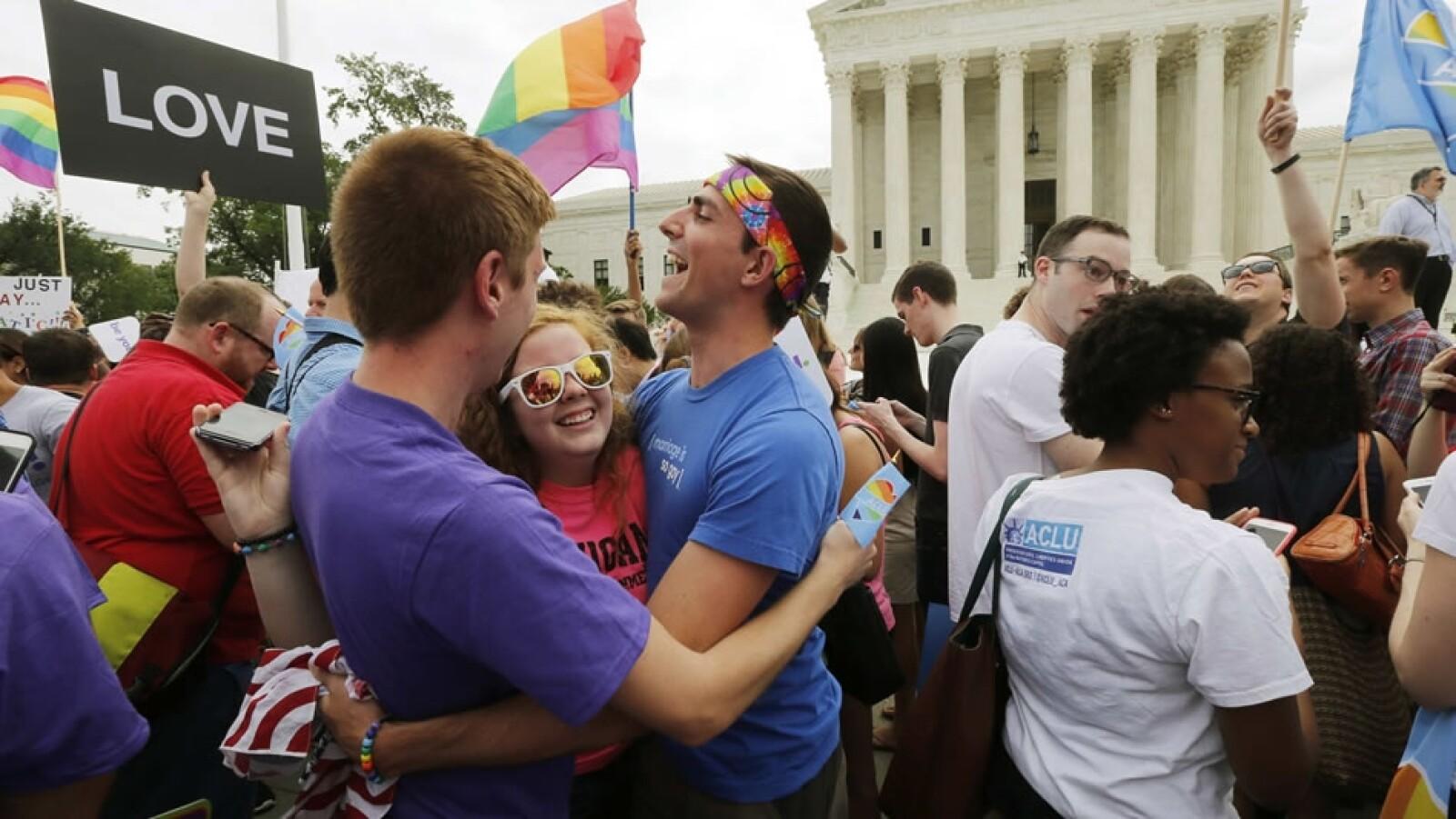 Festejos, Corte Suprema, Estados Unidos