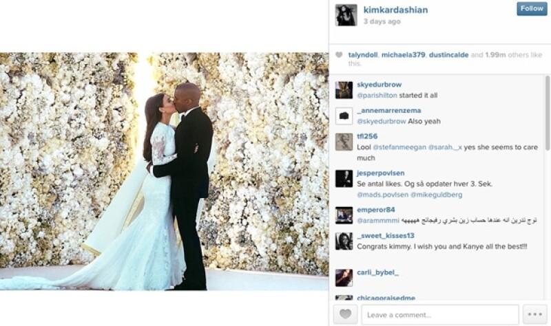 No cabe duda que Kim Kardashian y Kanye West fueron la pareja más comentada del año.