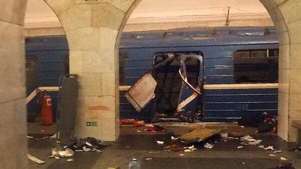 Rusia califica de terrorista el ataque en San Petersburgo