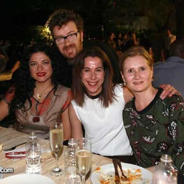 Alejandra Fraustro,Dany Frydman,Ruth Ovseyevitz y Ana Elena Mallet