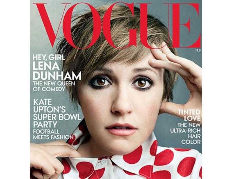 Lena Dunham para Vogue