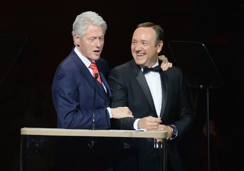 El protagonista de la serie contó que el ex presidente asegura que lo que se dice sobre el sistema político estadounidense en el programa es 99% verdad.