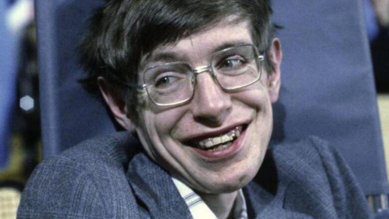 Hawking en la Universidad de Priceton