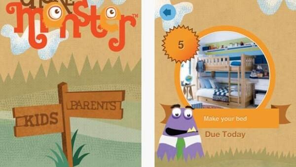 ChoreMonster es una aplicación que ayudará a los niños realicen sus actividades donde pueden ser recompensados.