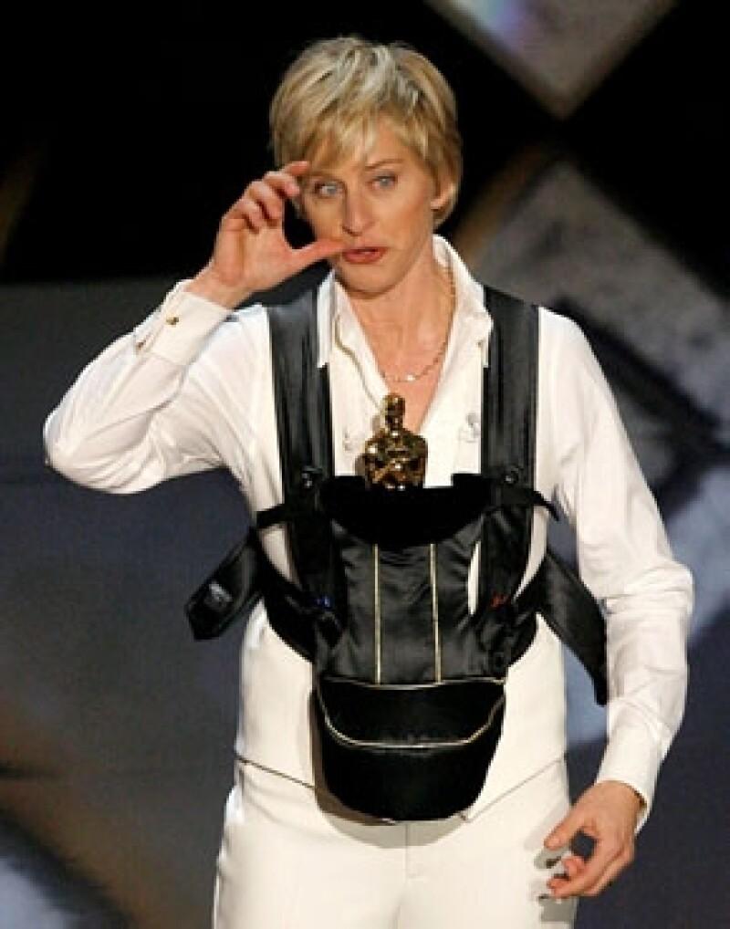 Ellen fue aclamada por su divertida colaboración en los Oscar 2007, por lo que siete años después se espera haga un gran papel.