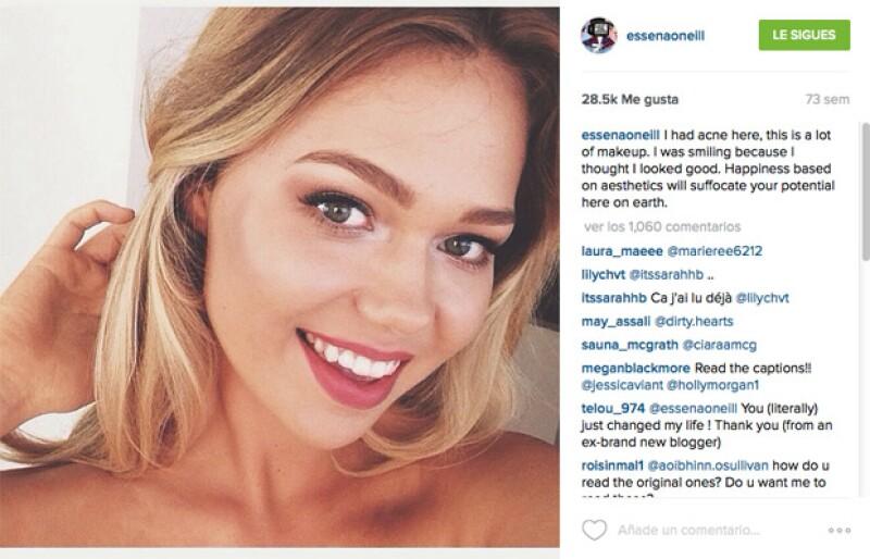 Con la finalidad de mostrar la belleza real, Essena O&#39Neill invita a todos los jóvenes inmersos en las redes sociales a que no cometan el mismo error que ella.