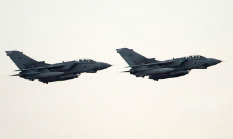 Aviones 'Tornado' despegaron de una base en la isla de Chipre para iniciar una acción militar contra ISIS. (Foto: Getty Images)