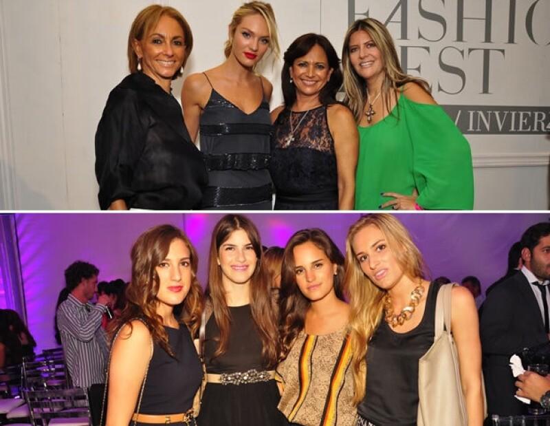 En agosto la modelo Candice Swanepoel desfiló en la perla tapatía en el Fashion Fest de Liverpool.