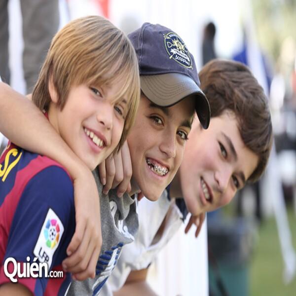 Rodrigo Ballesteros,Guillermo Arana,Guillermo Fernández