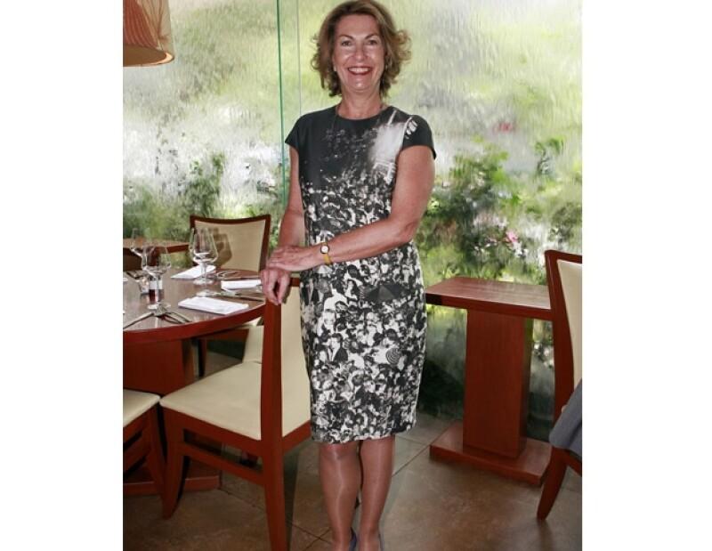 Fue una de las invitadas a la degustación con causa del restaurante Harry´s realizada a mitad del año.