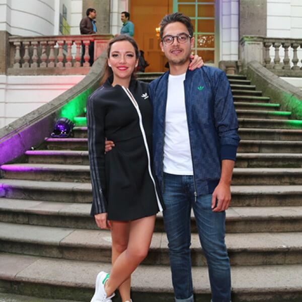 Regina Blandón y Roberto Flores