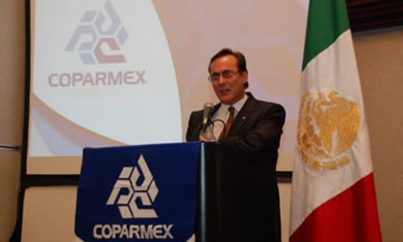 Juan Pablo Castañón sustituye a  Alberto Espinosa en la dirigencia. (Foto: Tomada de coparmex.org.mx)