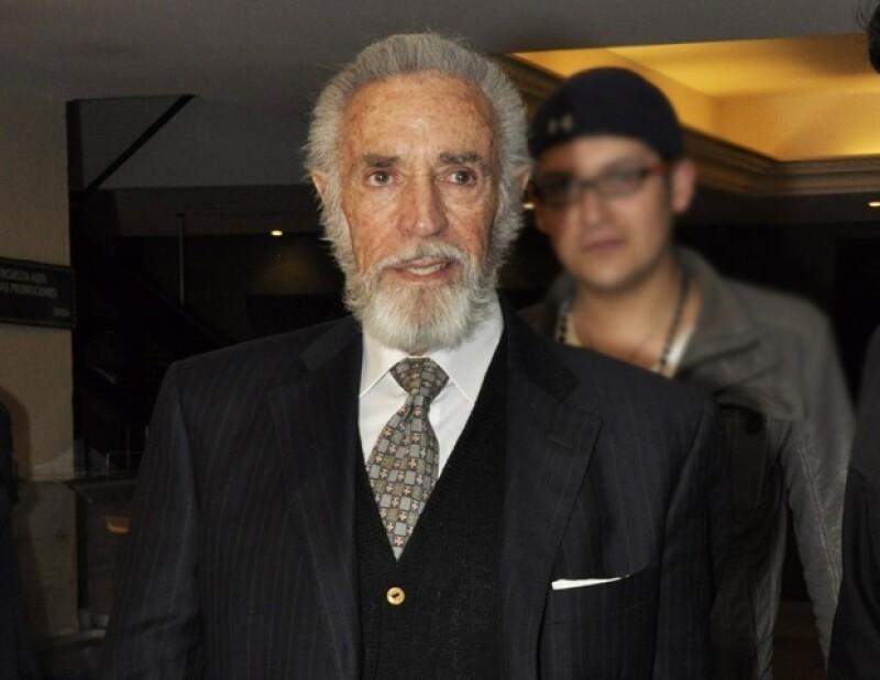 Julio Alemán murió a los 78 años debido a un infarto.