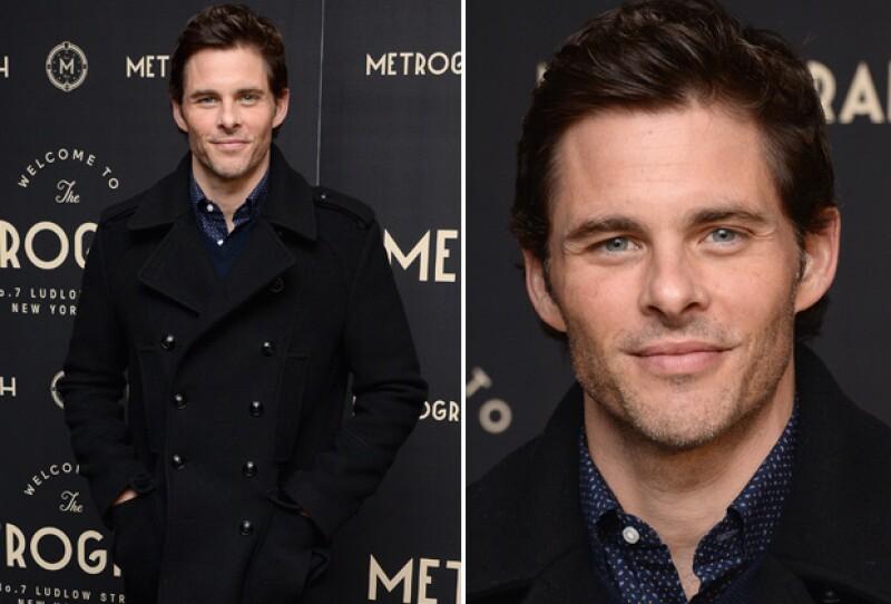 Mejor conocido como el novio perfecto pero jamás el galán de la película, James nos encanta con sus ojos azules.