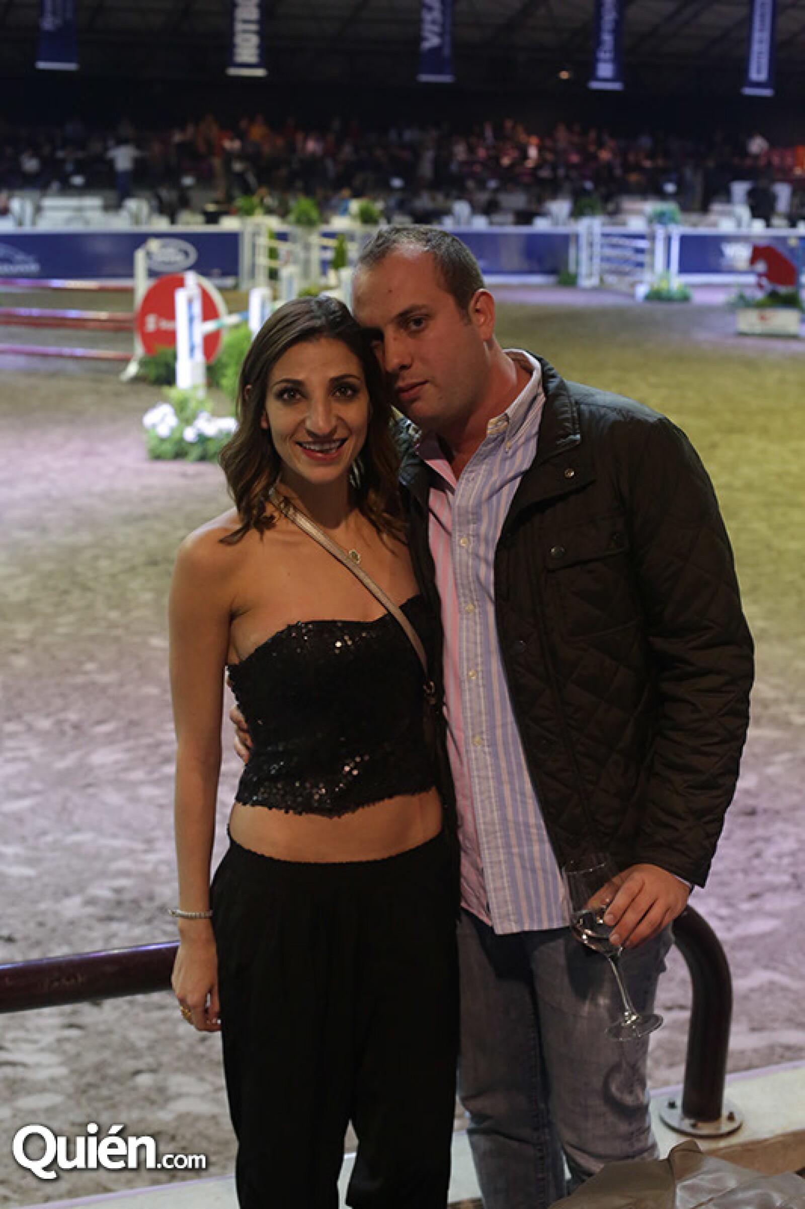 Sara Zetune y Adam Dorembaum