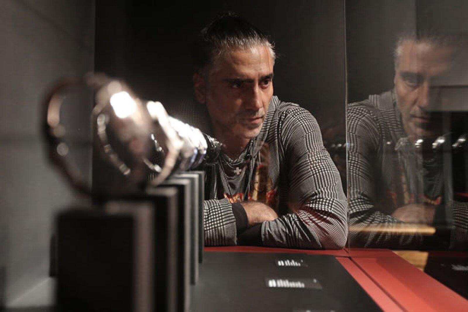 Alejandro es amante de la alta relojería y es una de las personalidades amigas de esta marca desde hace varios años.