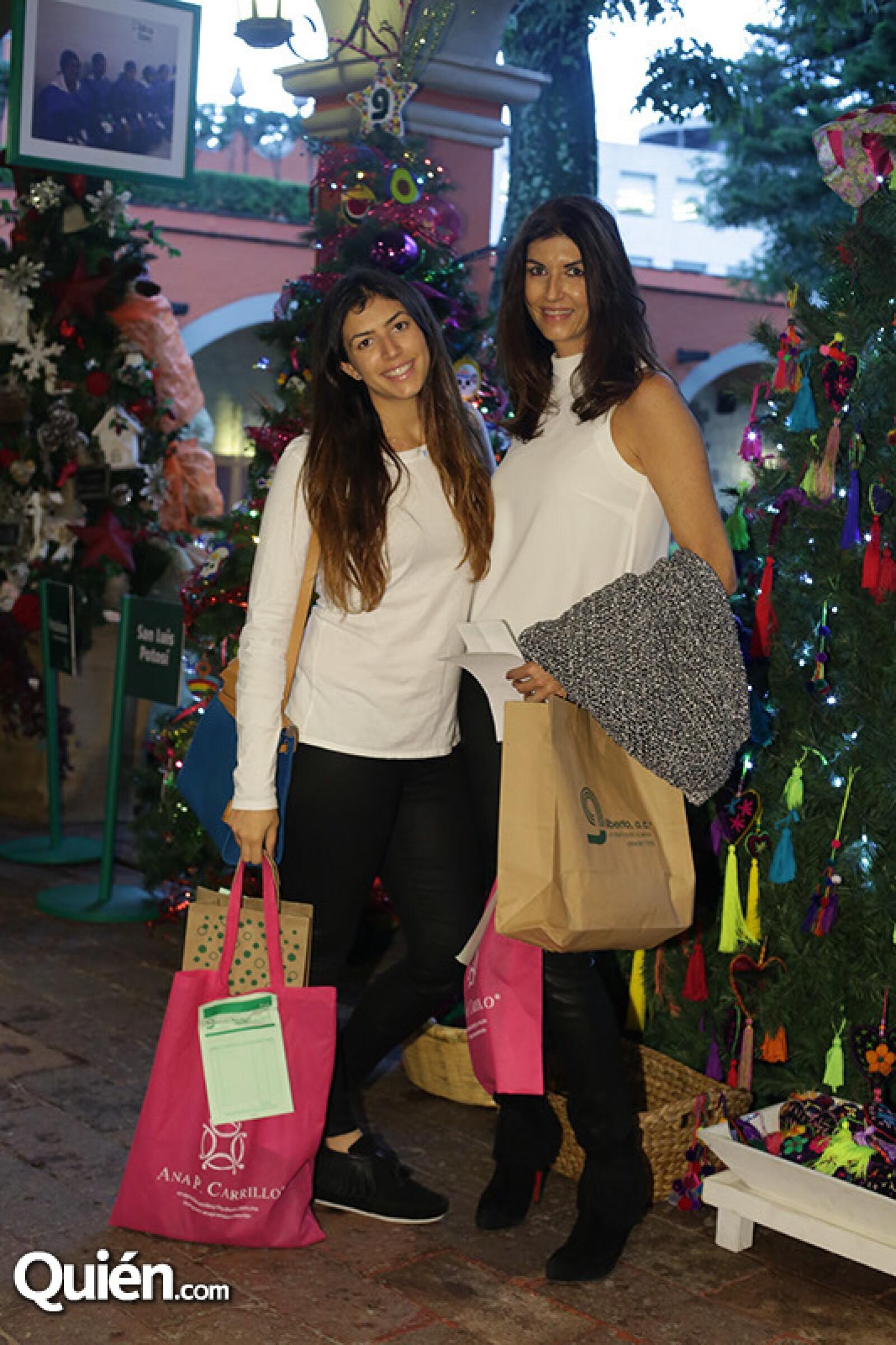 Becky y Eva Saba
