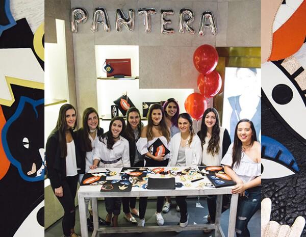 Pam Allier y el equipo de Pantera