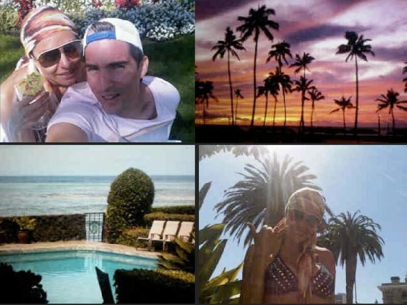 Galilea Montijo y su esposo Fernando prefirieron el sol y las playas de Hawai.