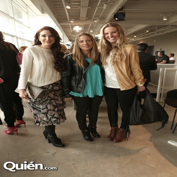 Olivia Guzmán, Lorena Alverde y Mayte Socana