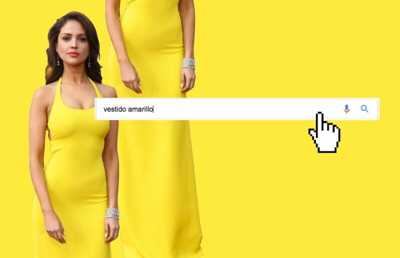 Vestido-Amarillo-Google-Eiza