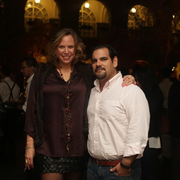 Stephanie Edwards y Patricio Murat