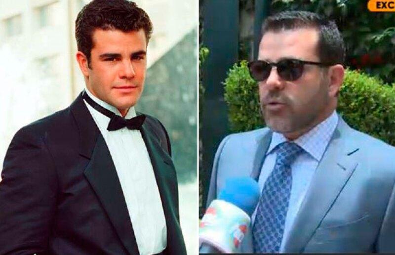 El actor es reconocido por su trabajo en la telenovelas mexicanas.