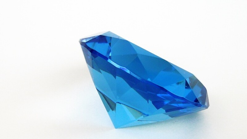 Diamante azul