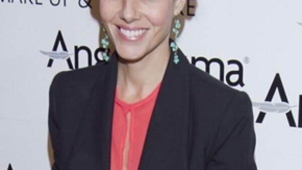 En abril del 2010 nació el hijo de la actriz; desde entonces acaparó su tiempo, y su carrera profesional, dio un giro.