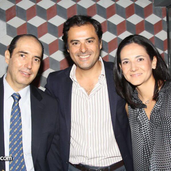 Jose Carlos Moreno con Jose M Gonzalez y Clau Preciado