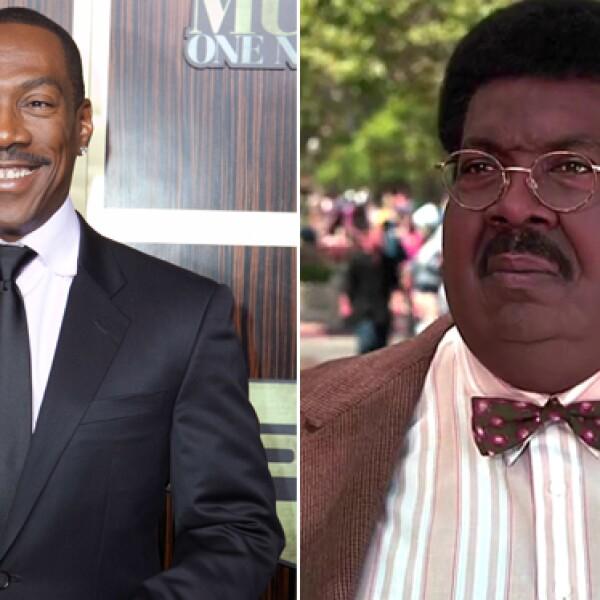 Eddie Murphy ganó 100 kilos para su personaje de Sherman Klump en The Nutty Professor. Todo fue obra de la magia del maquillaje.