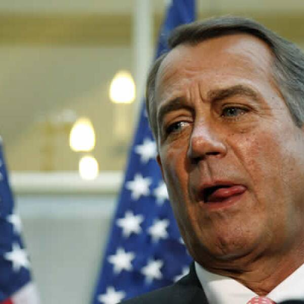 La propuesta del presidente de la Cámara baja y líder de la mayoría republicana de crecer el techo de deuda sólo hasta el 22 de noviembre no es bien recibida por la Casa Blanca.